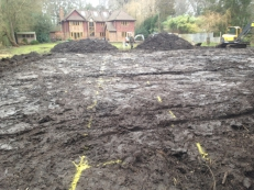 Land Drainage/ Treatment Plant installation, Guildford, Surrey