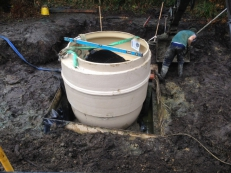 Land Drainage/Treatment Plant Installation, Guildford, Surrey